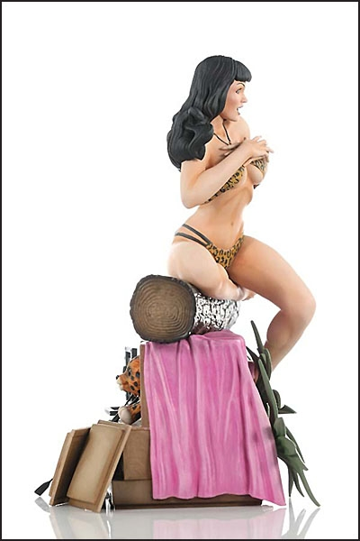 BETTIE PAGE STATUE By Terry Dodson
