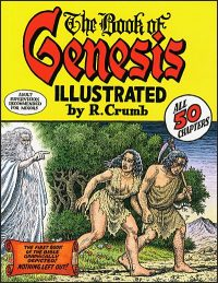 BOOK OF GENESIS Illustrated by Robert Crumb (First Edition)