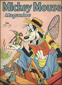 MICKEY MOUSE MAGAZINE Volume 4 Number 7