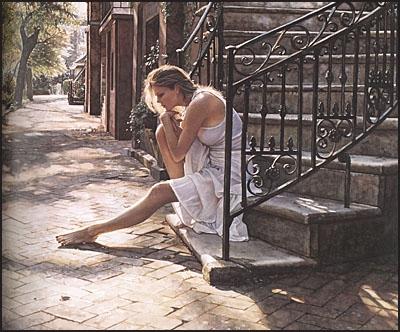 MOVING ON THE ART OF STEVE HANKS