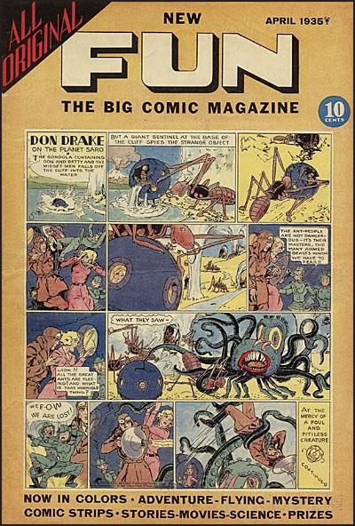 DC COMICS BEFORE SUPERMAN Major Malcolm Wheeler-Nicholson's Pulp Comics