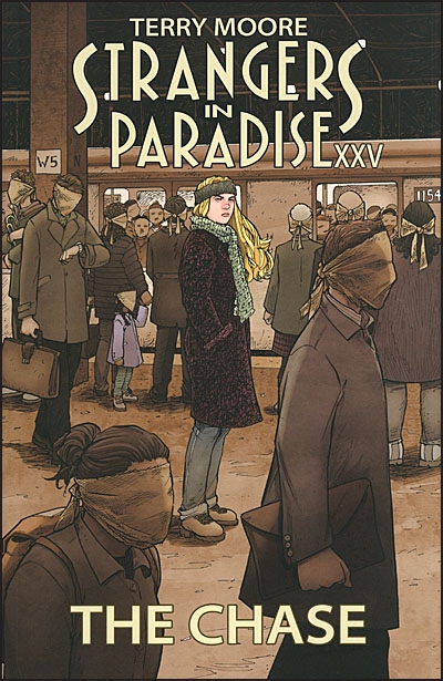 TERRY MOORE STRANGERS IN PARADISE XXV The Chase Signed