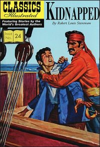 CLASSICS ILLUSTRATED #24 Kidnapped