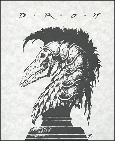 ART OF BROM Publishers Edition Signed