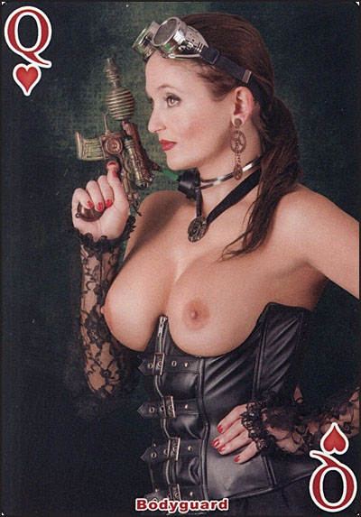 THE SENSUAL GODDESS OF DARK FANTASY Playing Cards