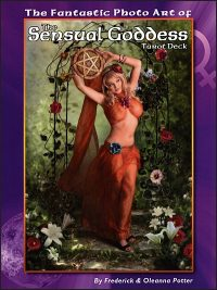 THE FANTASTIC PHOTO ART OF THE SENSUAL GODDESS Tarot Deck Softcover