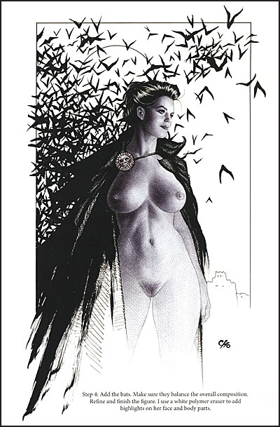 BALLPOINT BEAUTIES By Frank Cho