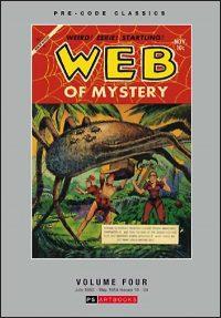 PRE-CODE CLASSICS WEB OF MYSTERY Volume 4