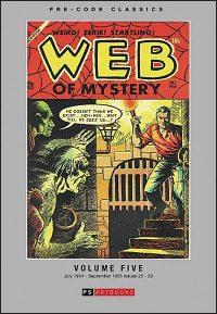 PRE-CODE CLASSICS WEB OF MYSTERY Volume 5