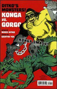 DITKO'S MONSTERS KONGA VS GORGO