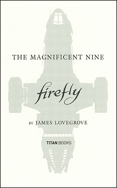 FIREFLY The Magnificent Nine
