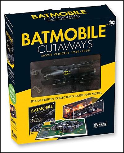 BATMOBILE CUTAWAYS The Movie Vehicles 1989-2012