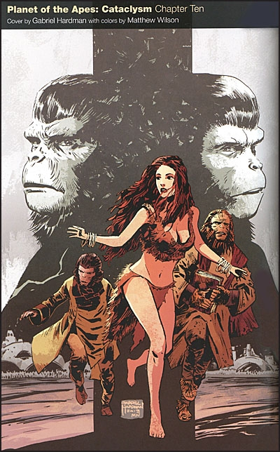 PLANET OF THE APES Omnibus Before the Fall