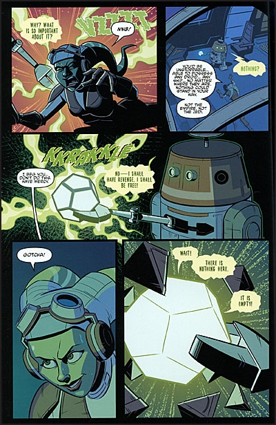 STAR WARS Adventures Tales From Vader's Castle