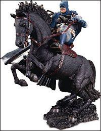 DARK KNIGHT RETURNS A Call to Arms Mini Battle Statue