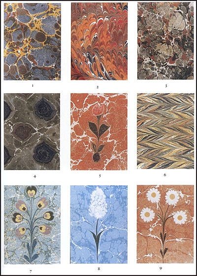 MARBLED PAPER It's History, Techniques, and Patterns