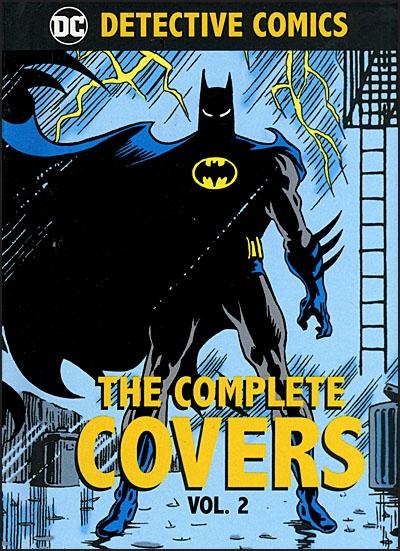 DC COMICS DETECTIVE COMICS The Complete Covers Volume 2