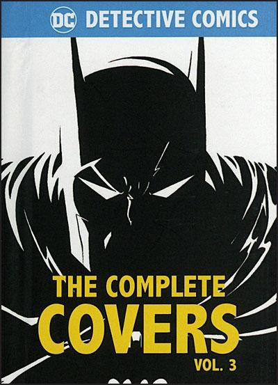 DC COMICS DETECTIVE COMICS The Complete Covers Volume 3