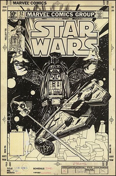 WALTER SIMONSON'S STAR WARS Artist's Edition
