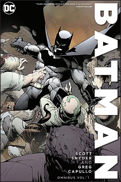 BATMAN BY SCOTT SNYDER & GREG CAPULLO Omnibus Volume 1