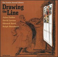 COMICS JOURNAL LIBRARY Volume 4 Drawing the Line
