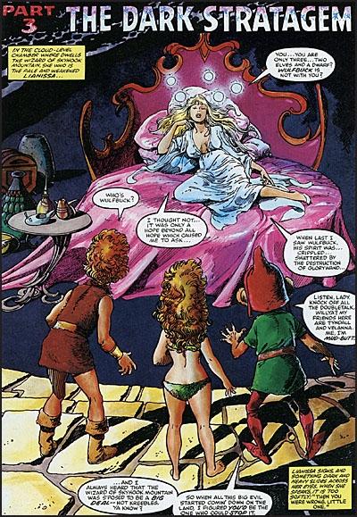 WEIRDWORLD The Dragonmaster of Klarn