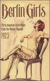 BERLIN GIRLS FLIRTY MAGAZINE ILLUSTRATIONS From the Weimar Republic 1923