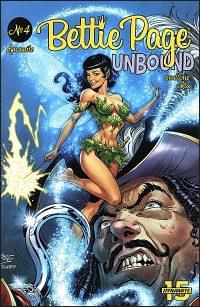 BETTIE PAGE UNBOUND #4 Comic Set