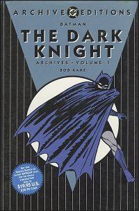 BATMAN THE DARK KNIGHT ARCHIVES VOLUME 1