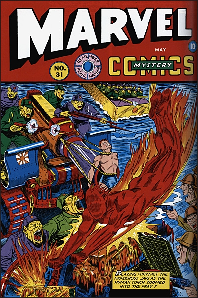 TIMELY'S GREATEST The Golden Age Human Torch by Carl Burgos Omnibus
