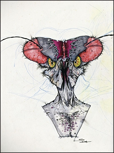 THE ART OF CREATURE AND CHARACTER DESIGN SKETCHBOOK Signed