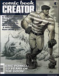 COMIC BOOK CREATOR #21
