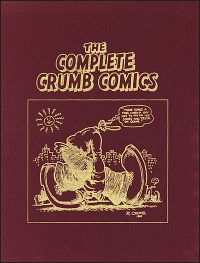 THE COMPLETE CRUMB COMICS Volume 1-17 Set