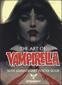 ART OF VAMPIRELLA 50th Anniversary Posterbook