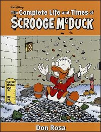 THE COMPLETE LIFE AND TIMES OF SCROOGE MCDUCK Volume 1 & 2 Slipcase Set