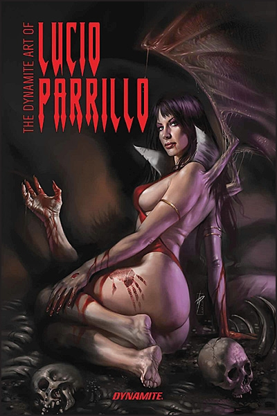THE DYNAMIC ART OF LUCIO PARRILLO