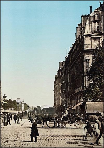 FRANCE AROUND 1900
