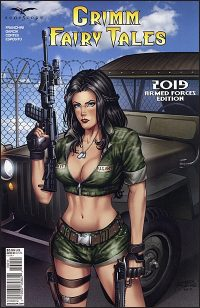 GRIMM FAIRY TALES 2019 ARMED FORCES Alfredo Reyes Cover