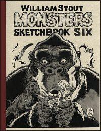 WILLIAM STOUT MONSTERS #6 Sketchbook Signed