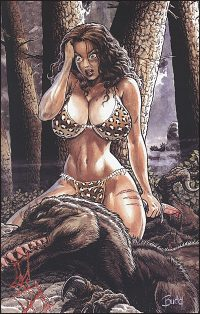 CAVEWOMAN DOUBLE FEATURE Cover D