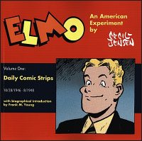 ELMO 1 DAILY COMIC STRIPS 1946-48 Signed