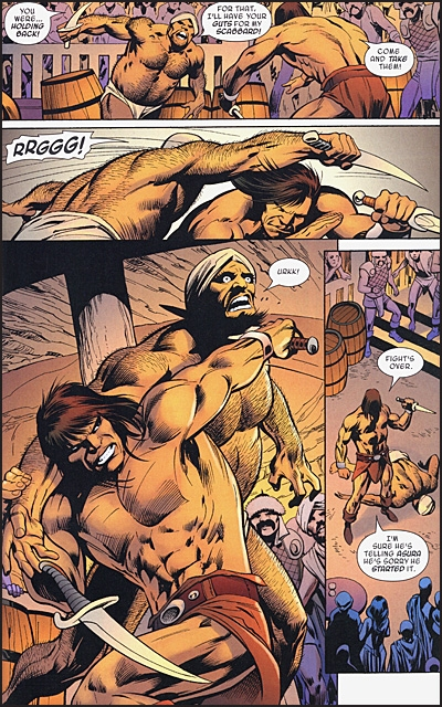 SAVAGE SWORD OF CONAN Volume 2 Conan The Gambler