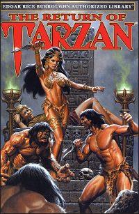 EDGAR RICE BURROUGHS AUTHORIZED LIBRARY Volume 2 The Return of Tarzan