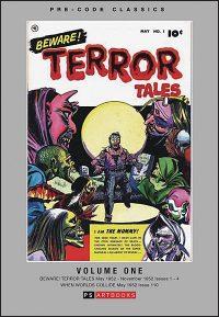 PRE-CODE CLASSICS BEWARE! TERROR TALES  Volume 1 Hardcover