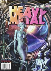 HEAVY METAL MAGAZINE #298 Phil Cohen Cover