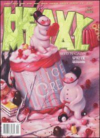 HEAVY METAL MAGAZINE #297 Brandi Milne Cover