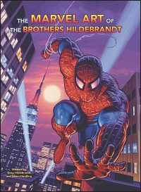 THE MARVEL ART OF THE BROTHERS HILDEBRANDT with Cards