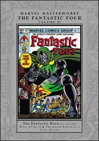 MARVEL MASTERWORKS THE FANTASTIC FOUR Volume 22
