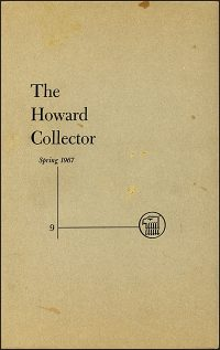 THE HOWARD COLLECTOR SPRING 1967