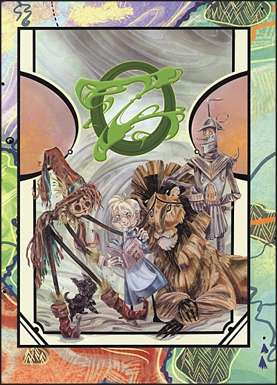 THE ROYAL BOOK OF OZ Deluxe Signed
